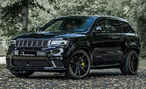 Jeep新大切诺基曝光 搭6.2L发动机