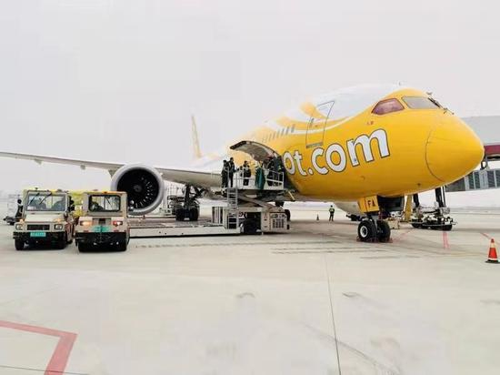 酷航2020年持续发力新一线市场 郑州-新加坡往返航线升级为波音787梦幻客机执飞