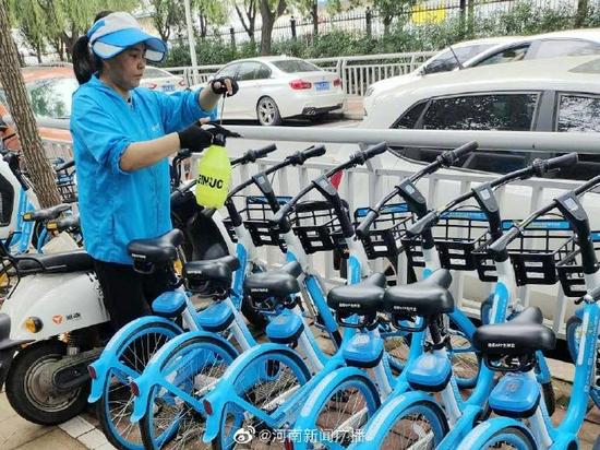 郑州市区共享单车继续免费骑行15天 请按规定有序停放