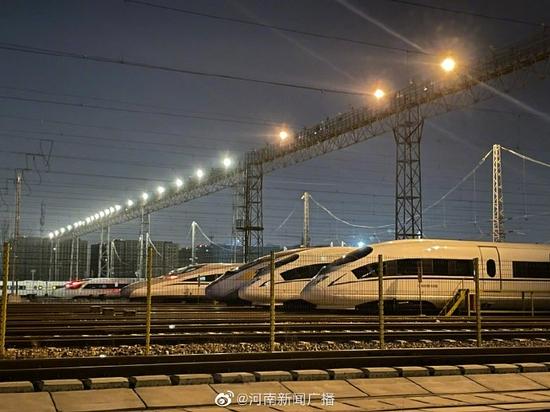 10月11日起 郑州铁路将启用新列车运行图
