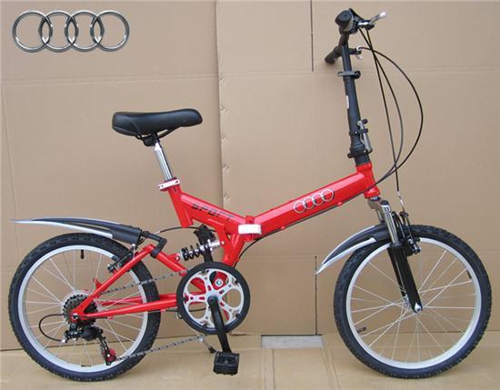 奥迪原厂自行车