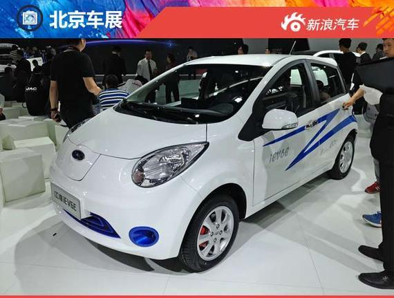 江淮iEV6E电动车正式发布 续航达152km高清图片