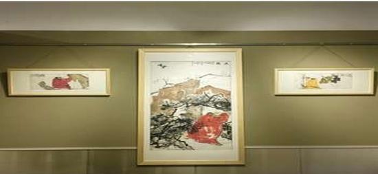 画展天下王林漫画在兰考举行救助20万义卖鸣樱本子善行图片