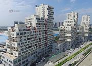 郑州街头奇特建筑 酷似俄罗斯方块