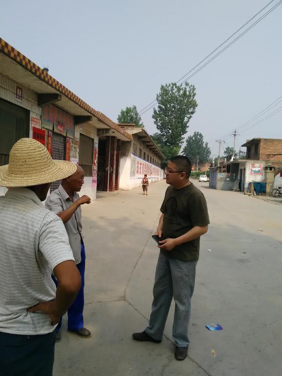 林州市桂林镇人民调解委员会主任陶锐——闪光的青春图片