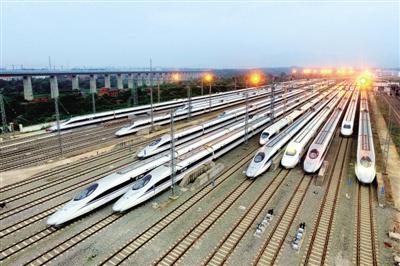 郑州铁路局实行新列车运行图 以后去昆明只需10个半小时