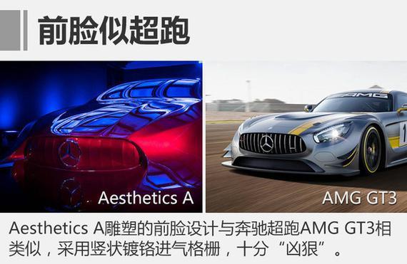 展示全新设计语言 奔驰发布a级三厢雕塑_郑州汽车网