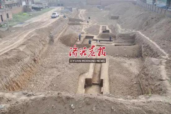 """济源发现一座汉代古墓 墓主疑为古代""""地主阶级"""""""