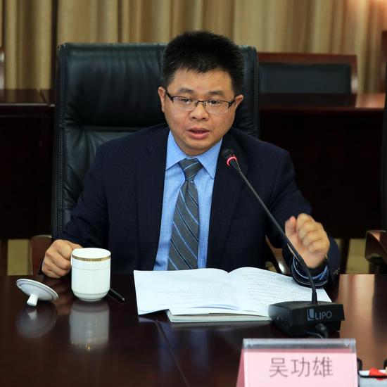麻省国际医疗集团总裁吴功雄