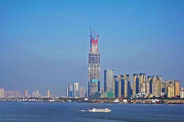 在建注册恒达武汉绿地中心。资料照片