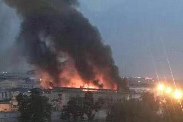 辽宁锦州监狱木柴加工厂起火 过火面积500平米