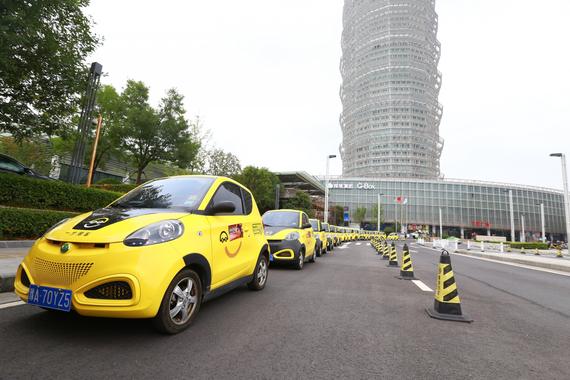 一步用车从郑东新区CBD开始城市巡游