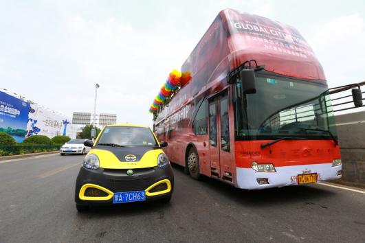 一步用车助力儿童教育的城市巡游
