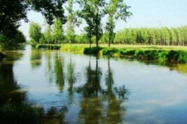 """天然""""氧吧""""!贾鲁河在郑州这个地方形成两个湖泊"""