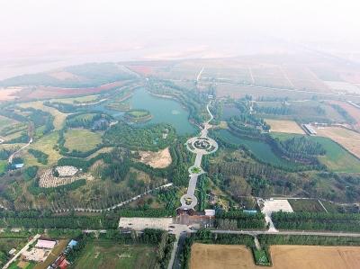 发展中的郑州环城都市生态农业带