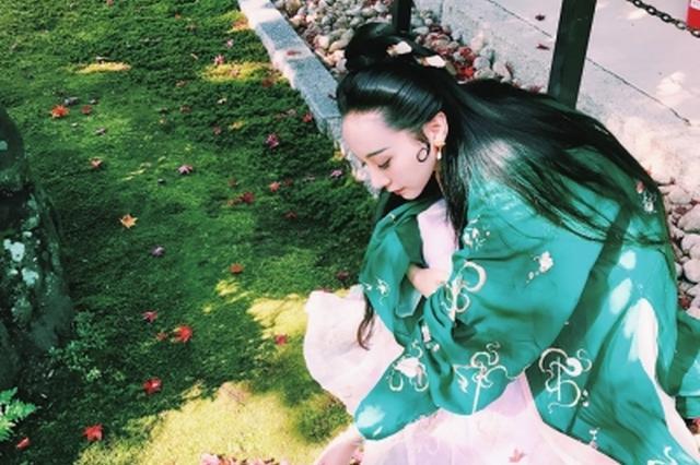 """洛阳汉服美女日本京都惹关注 被称为""""中国仙女"""""""