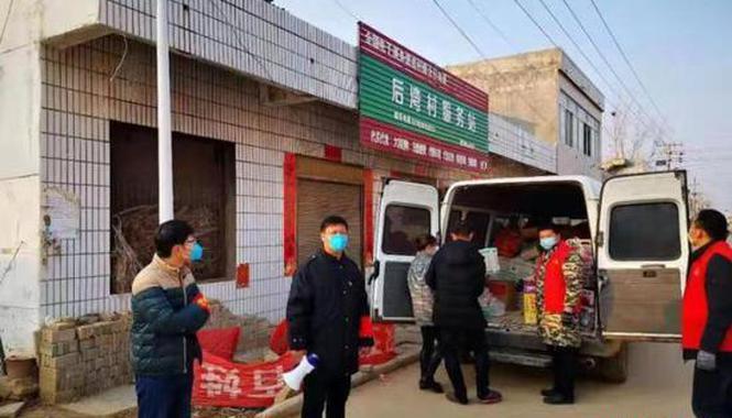 """河南村镇开通代购车 不让被隔离群众成""""孤岛遗民"""""""