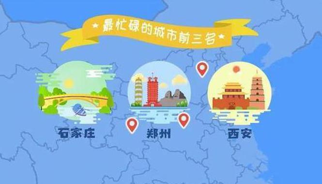 中国十大忙碌城市大郑州第二名