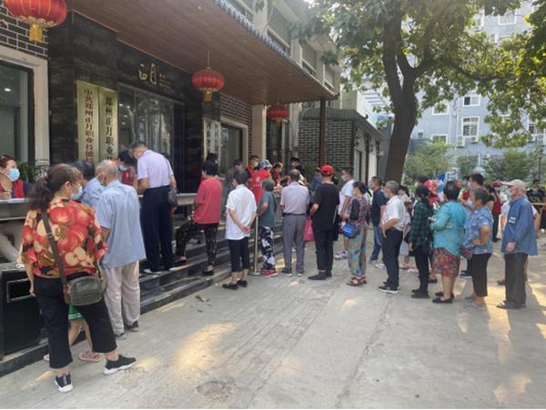 抗击疫情不停歇 郑州市金水区完成120.8万人核酸样本采集