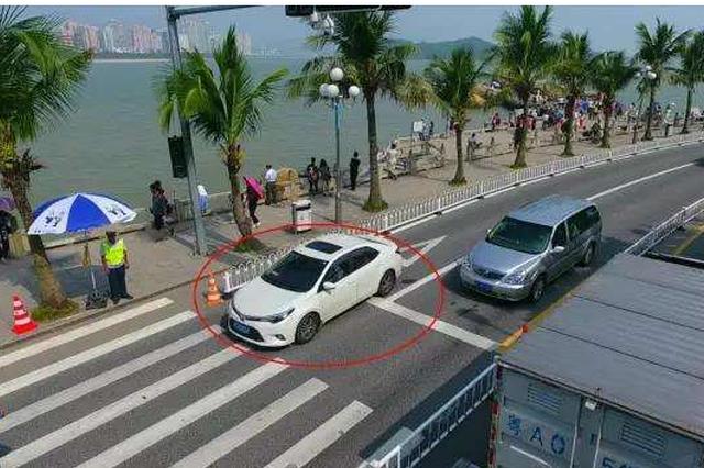 郑东新区CBD新增20个电子抓拍点位