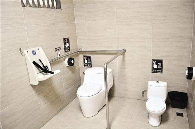 郑州年内将建200个第三卫生间方便幼童如厕
