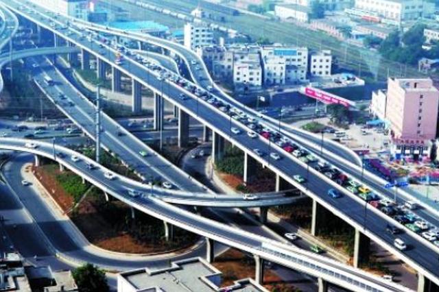 """郑州京广快速与农业路高架""""牵手"""" 最新出行路线在此"""