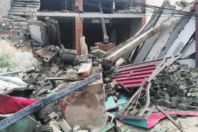 漯河在建民房坍塌致一死两伤 事故原因正在调查