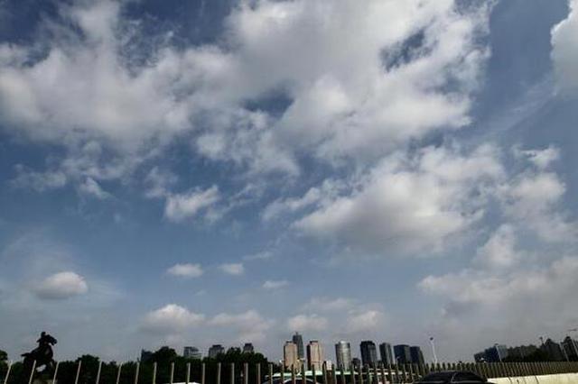 好大一朵棉花糖 你知道郑州上空这是什么云吗(图)