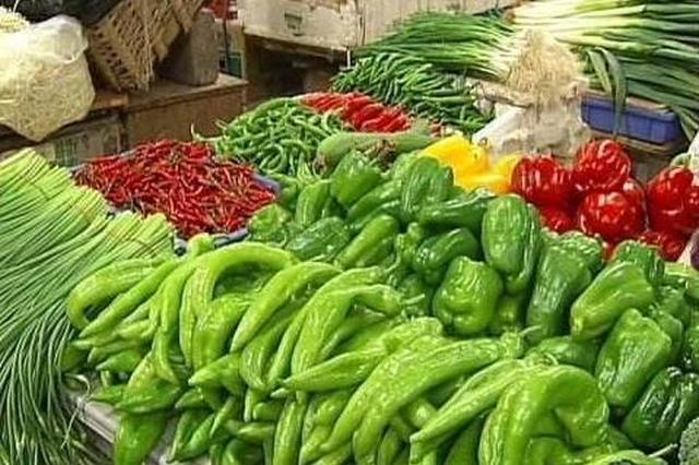一季度郑州一农贸市场29个蔬菜价格比上季度涨二成