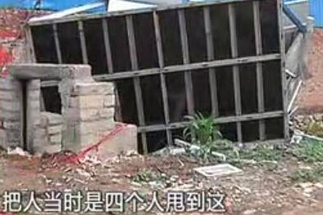新乡4名工人简易房躲雨 房被吹倒致1死3重伤