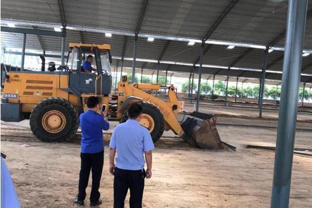 郑州高新区一企业院内藏多处违章建筑 已全部拆除
