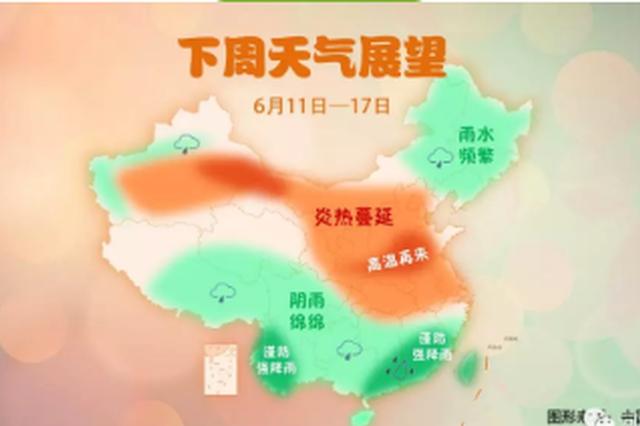 本周河南持续高温天气 局部地区最高温39℃