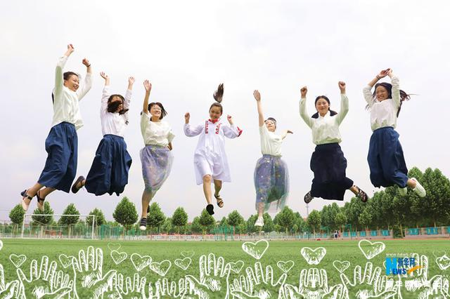 图集:河南温县一高多彩毕业照纪念高中岁月