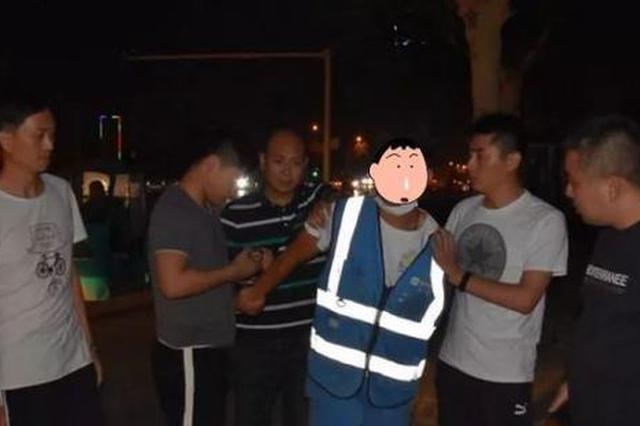 兼职共享单车维修员专盗电瓶 这个男子在商丘被抓