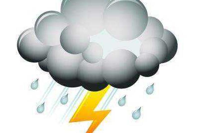 注意 今天晚上郑州有雷阵雨天气