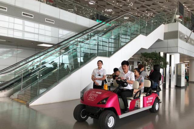 好消息!郑州机场开通免费候机摆渡车