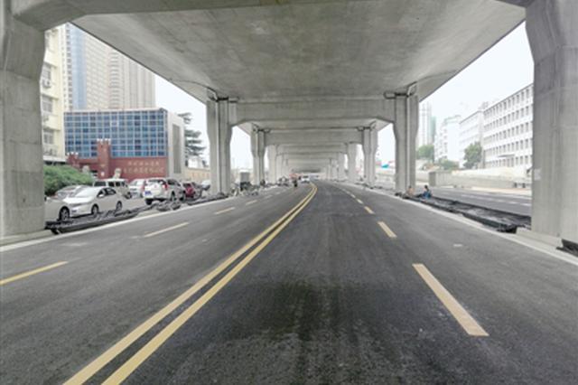 郑州农业路(南阳路至京广铁路)地面道路通车