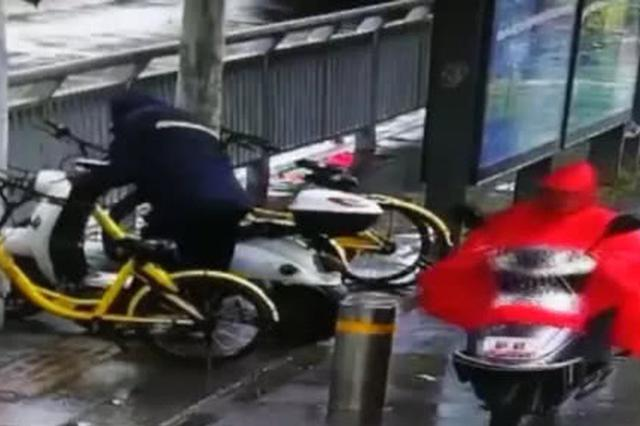 兵贵神速抓现行!郑州警方获现行盗窃电动车嫌疑人