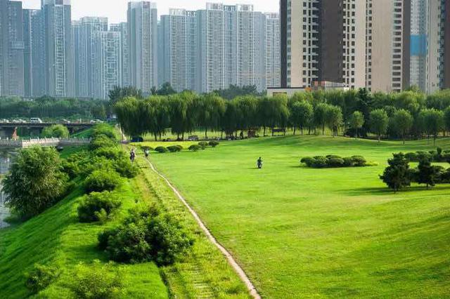 """郑州创建国家生态园林城市 已建成四个""""城市绿心"""""""