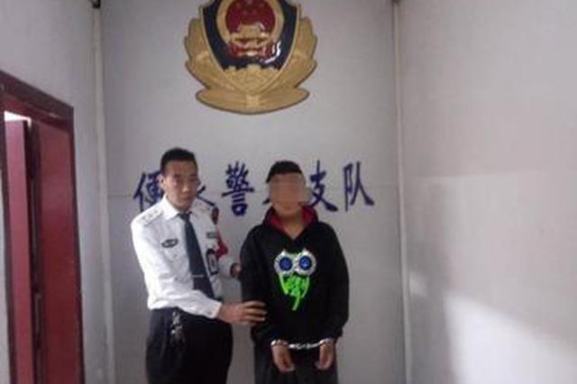 郑州街头男子偷手机刚得手就被捉 提醒市民注意防盗