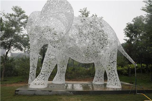 全球挑选47件雕塑! 国庆节郑州雕塑公园有展览