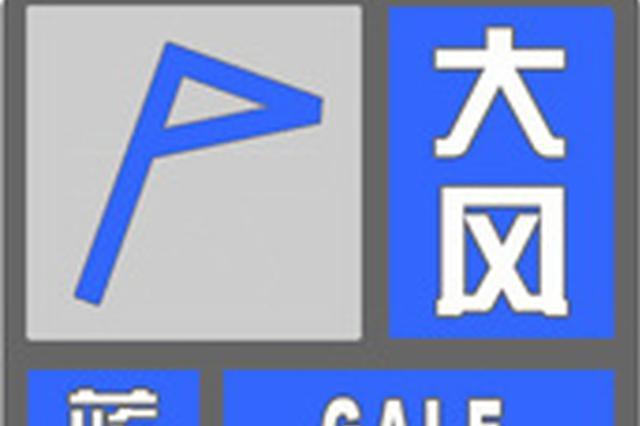 注意!河南发布大风蓝色预警 局地阵风可达6级
