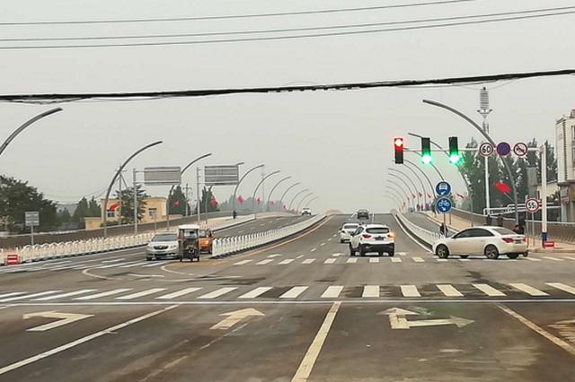 封闭198天后 中牟广惠街跨贾鲁河大桥今日通车