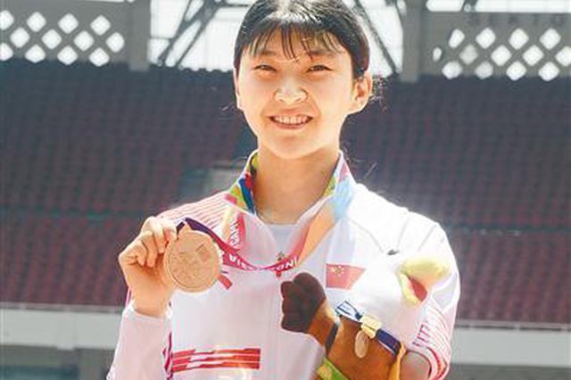 河南90后运动员摘得亚残会金牌 曾获里约残奥会冠军