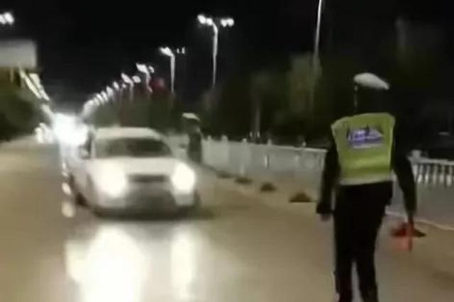 禹州男子醉驾逃跑弄伤交警 反质问交警:有意思没