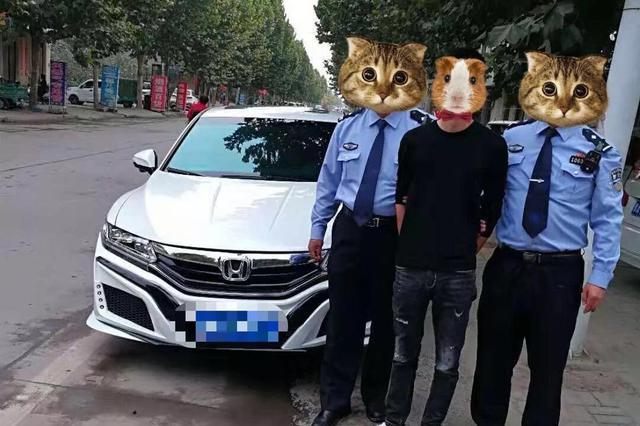 新郑民警执勤中意外发现一名网逃人员 现场将其拿下