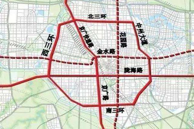 沿黄快速路东段工程开工 将成郑州最靠北东西向主干道