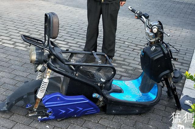 真疯狂!郑州20辆电动车电瓶被盗 有的只剩空壳