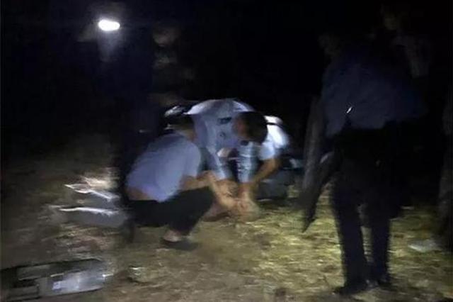 漯河男子酒后持刀滋事 民警上前制止遭追砍