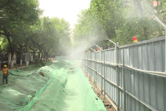 注意!郑州东明路大修 预计12月底完成快车道通车